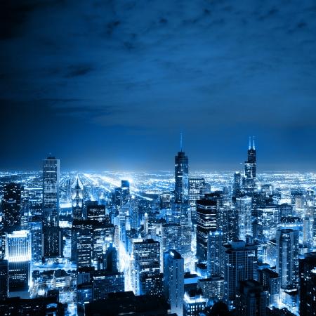 Foto de Aerial View Of Chicago - Imagen libre de derechos