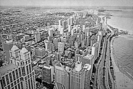 Old Picture Design - Chicago
