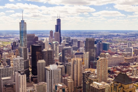 Top View Of Chicago