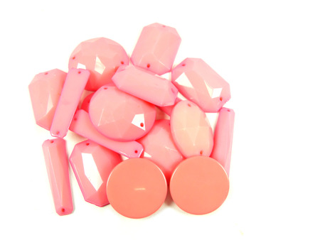 Collection of Pink Bead