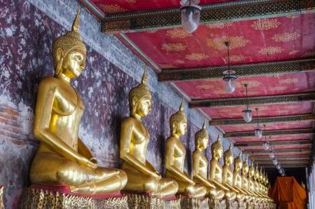 The Buddha status of temple