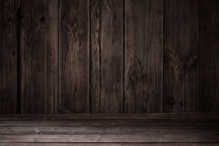 Photo for rustic old dark wooden background - Royalty Free Image