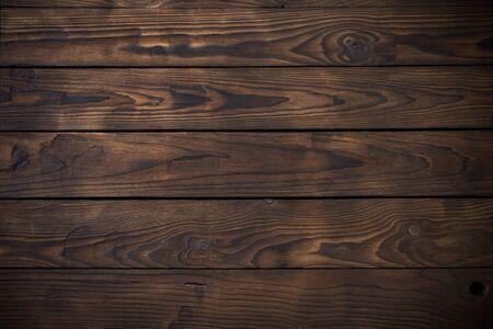 Foto de old wooden dark striped background - Imagen libre de derechos