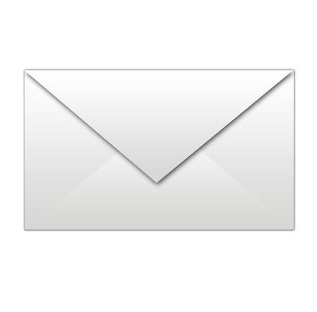 white envelope isolated