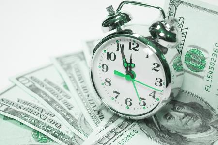 Foto für time is money - Lizenzfreies Bild