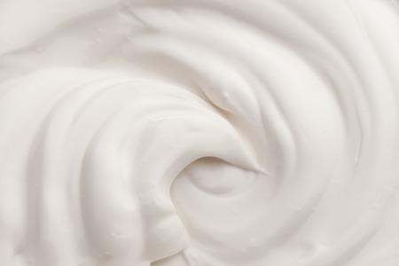 Photo pour White texture of cream  - image libre de droit