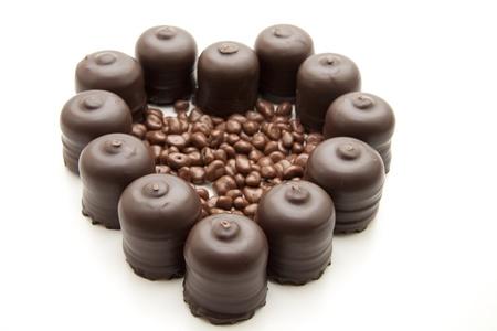 Marshmallow with raisins