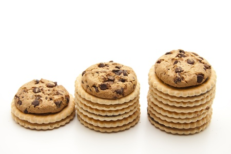Biscuits with filling