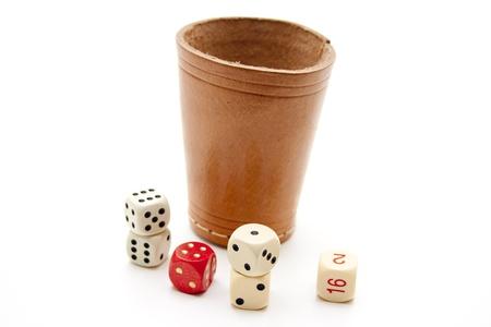 Cubes mug with cube