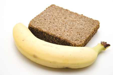 Wholemeal bread with banana
