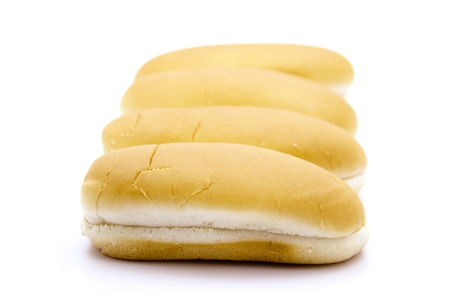 Hotdog bread rolls
