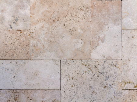 Photo for texture of the wall of natural stone, travertine, sandstone and marble background - Royalty Free Image