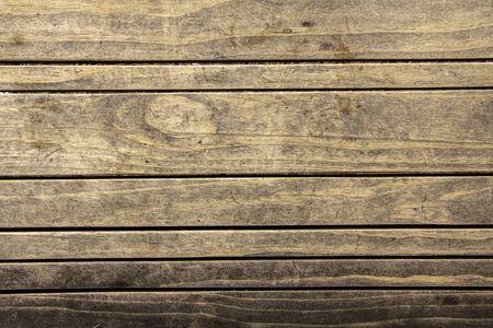 Foto de Old Yellow wood texture. Floor surface - Imagen libre de derechos