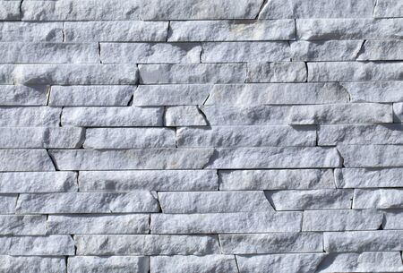 Photo for Natural slate background or texture, stone facing tile, for facade work and for interior design. - Royalty Free Image