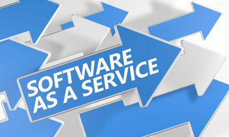 This image represents that Saas stands for software as a service.