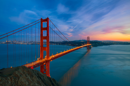 Photo pour Golden Gate Bridge - image libre de droit