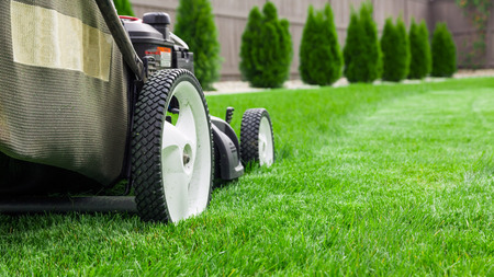 Photo pour Lawn mower - image libre de droit