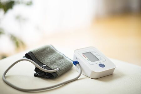 Photo pour Blood pressure monitor - image libre de droit