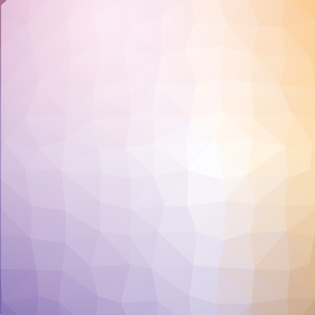 Yellow and blue geometric low poly style vector illustration graphic background.の素材 [FY31043874719]
