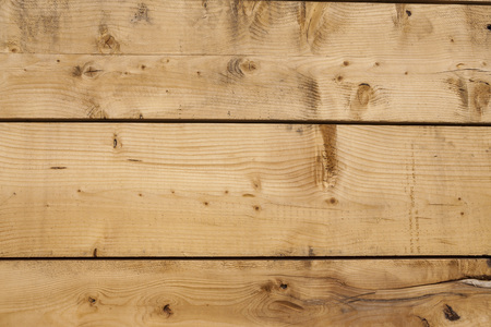 Background of an old aspen boards. Beautiful texture of the wood pattern. Great background for the production of laminate flooring, Wallpaper, furniture, facades of furniture