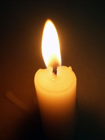 candle close up