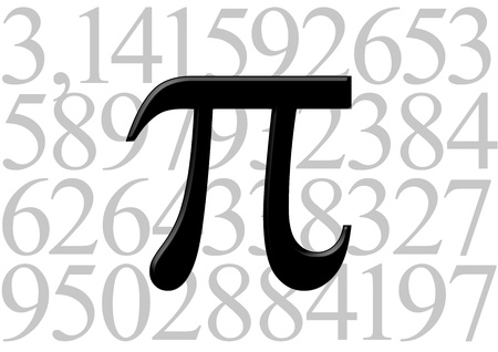 Pi letter on number value