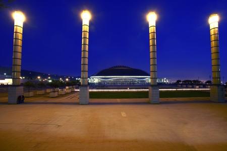 General view of Sport Center,  Palu Sant Jordi, Barcelona, Spain