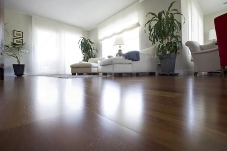 Photo pour Interiors of a living room - image libre de droit