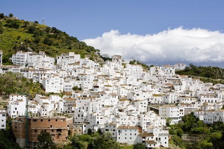 Buildings in a city, Estrecho De Gibraltar, Algeciras, Cadiz Province, Andalusia, Spain
