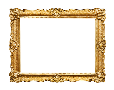 Photo for Carved picture frame - Royalty Free Image