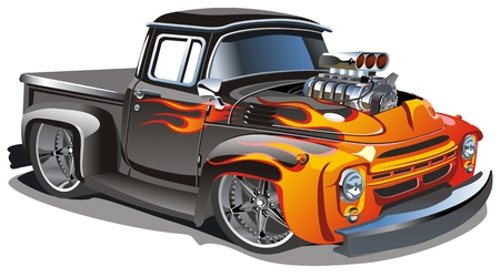 cartoon hot-rod