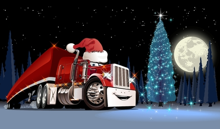 Ilustración de Vector Christmas Card. Available EPS-10 format separated by groups and layers for easy edit - Imagen libre de derechos