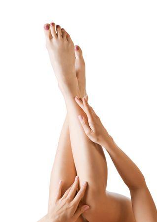 Photo pour sexy woman legs - image libre de droit