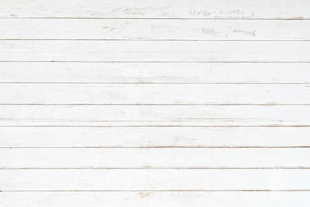 Photo for White gray wood color texture horizontal for background. Surface light clean of table top view. Natural patterns for design art work and interior or exterior. Grunge old white wood board wall pattern. - Royalty Free Image
