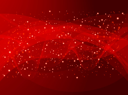 red holiday abstract background