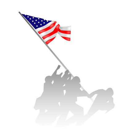 Foto per veterans day vector - Immagine Royalty Free