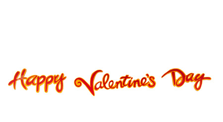 Valentine day is a happy day