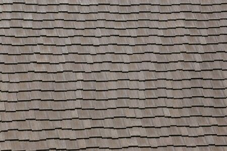 Photo for Pattern of the house roof background for design in your work concept. - Royalty Free Image