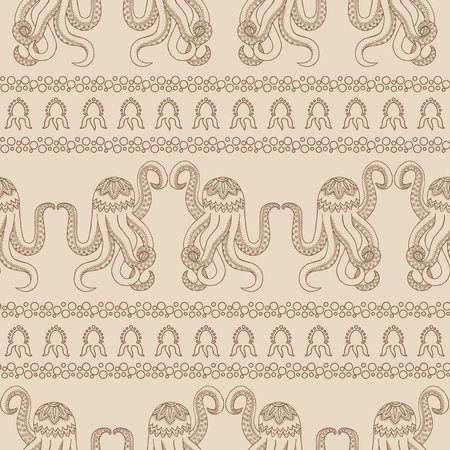 Seamless pattern background with