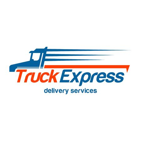 Illustration pour Delivery Logo Template - image libre de droit