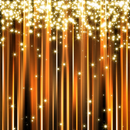 abstract golden sparkle background