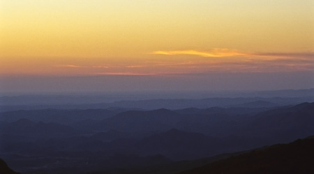 Jebel Shams in Oman, Arabic Peninsula