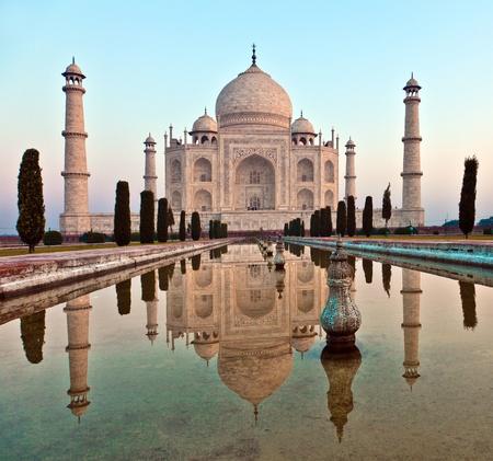 Taj Mahal in India