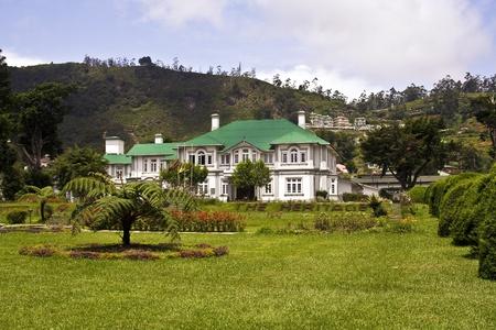 old english colonial style hotel in Nuwara Eliya