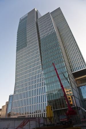 new skyscraper in the Palais Quartier in Frankfurt, Zeil