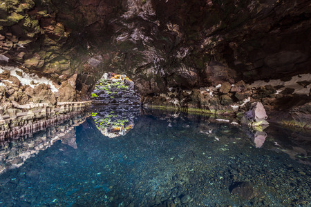 cave Jameos del Agua, Lanzarote, Canary Islands, Spain