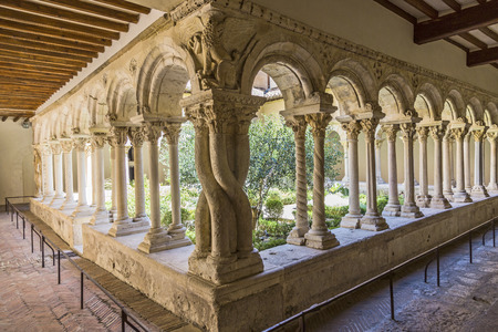 Cathedral Cloister in Aix-en-Provence, southern France