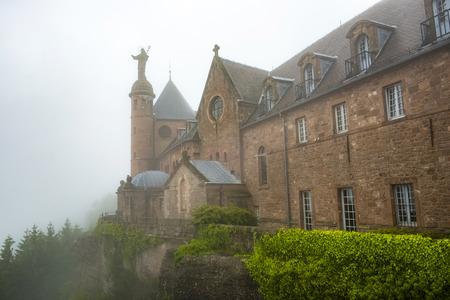 famous haute-barr castle, Alsave, Saverne, France