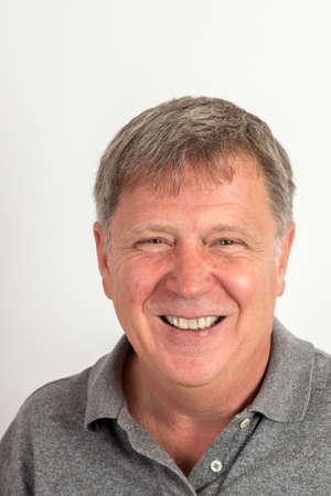 Photo pour portrait of handsome man in studio - image libre de droit