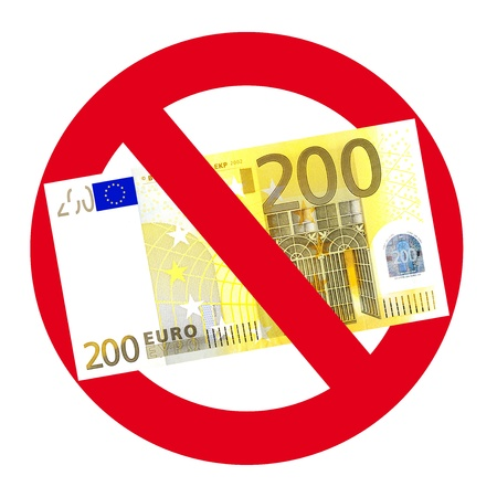 No acceptance of 200 Euro notes